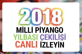 Milli Piyango yılbaşı 2018 çekilişi sonuçları canlı izleyin!