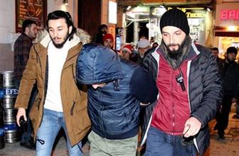 İstiklal'de bir kişi tacizden gözaltına alındı