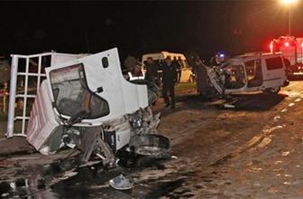 Ordu'da feci kaza: Ölü ve yaralılar var!