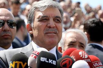 Gül ve Erdoğan'ın danışmanı Ankara'da bir otelde...