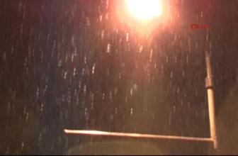 İstanbul'a yılın ilk karı yağdı hangi ilçelerde etkili oldu