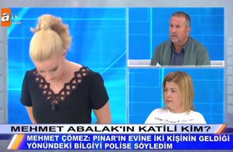 Müge Anlı Mehmet Abalak'ın katili kim canlı yayında ifşa etti