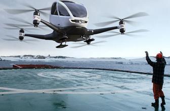 Dubai'de taksi hizmeti drone'lar ile verilecek!