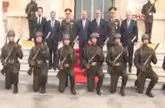 Edirne'de askere 'diz çöktürdüler'