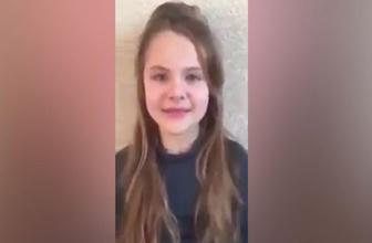 Kur'an-ı Kerim'den sureler okuyan Ukraynalı küçük kıza ilgi!