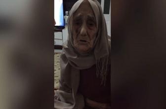 Yaşlı kadından Erdoğan'a duygulandıran mesaj!