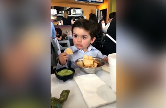Küçük çocuğun tepkisi paylaşım rekoru kırıyor!