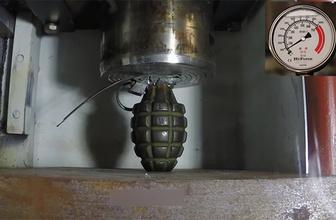El bombası preslenirse ne olur? İnanılmaz izleyin