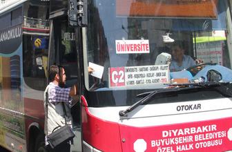 Diyarbakır'da yaşlı ve engelliler ücretsiz taşınacak