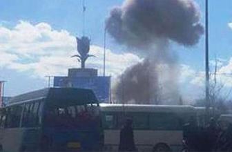 Kabil'de askeri hastanede patlama: Yaralılar var