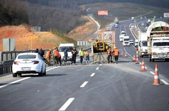 YSS Köprüsü'ne giden yollarda korkutan görüntü
