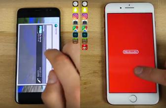 Galaxy S8 ve iPhone 7 Plus hız testi kim kazandı!