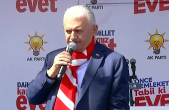 Binali Yıldırım İzmir'de sert çıktı: Senin ne haddine!