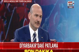 İçişleri Bakanı Süleyman Soylu'dan Diyarbakır açıklaması