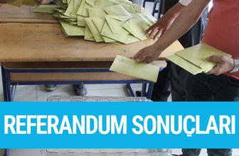Eskişehir referandum sonuçları 2017 seçimi evet hayır oyları