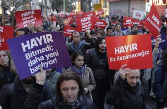 İzmir ve İstanbul'da izinsiz gösteriler!