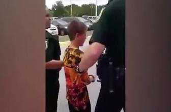 10 yaşındaki otizmli çocuğu kelepçeleyip tutukladılar!
