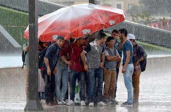 İstanbul ve Ankara saatlik hava durumu tahminine bakın