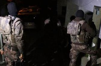 İstanbul'da FETÖ operasyonu çok sayıda gözaltı var