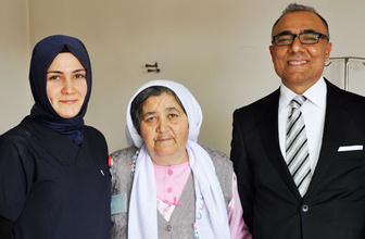 57 yaşındaki kadının midesinde 5 kilo kist çıktı!