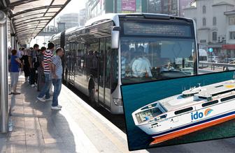 1 Mayıs'ta nereler açık Metrobüs - Metro - Vapur seferi var mı?