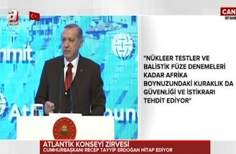 Cumhurbaşkanı Erdoğan: Kendim söyledim kendim dinledim