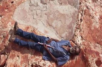 Dünyanın en büyük dinozor ayak izi Avustralya'da bulundu!