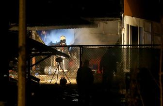 İstanbul'da restoranda yangın
