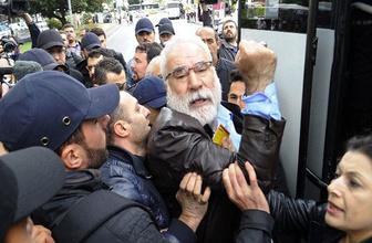 Beşiktaş'tan Taksim'e yürümek isteyen gruba gözaltı