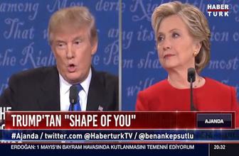 Shape of You şarkısı Trump'a uyarlandı