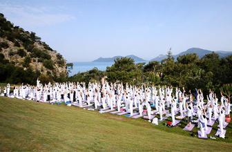 Büyük yoga festivali! 19 Mayıs tatili için farklı bir program