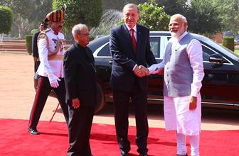 Erdoğan'ın ziyareti Hindistan'ı heyecanlandırdı yazılanlara bakın!