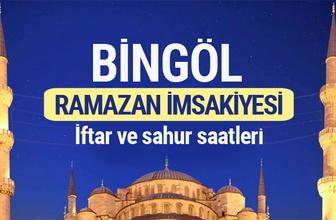 Bingöl Ramazan imsakiyesi 2017
