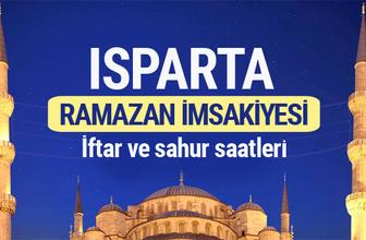 Isparta Ramazan imsakiyesi 2017