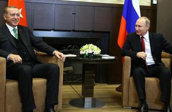 Putin'den Erdoğan'ı gülümseten espri