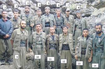 PKK sığınağındaki diz üstü bilgisayarından çıkan fotoğraf