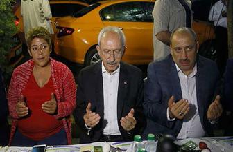 Kemal Kılıçdaroğlu taksiciler ile sahur yaptı