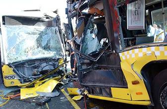 Metrobüsler kafa kafaya çarpışmıştı acı haber geldi