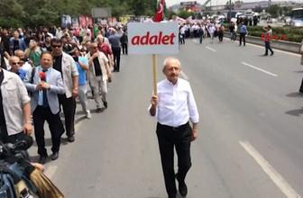 Kılıçdaroğlu, 'Adalet Yürüyüşü'nü başlattı