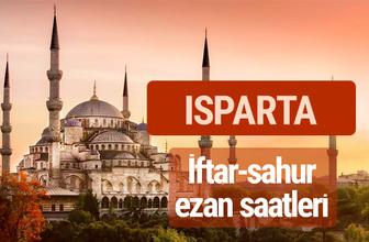 Isparta iftar vakti kaçta? İmsak-sahur ve ezan saatleri