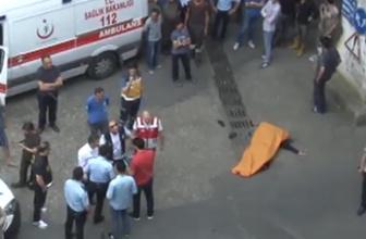 Otogarda feci ölüm: 20 metreden düştü!