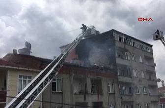 Sefaköy'de yangın