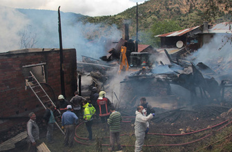 Ankara'da yangın: 1 ölü, 2 yaralı