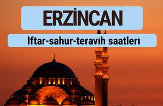 Erzincan iftar ve sahur vakti ile teravih saatleri