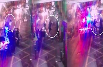 İngiliz polisinin saldırganları vurduğu o an kamerada!