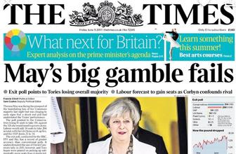 İngiliz basını May'i hedef tahtasına koydu