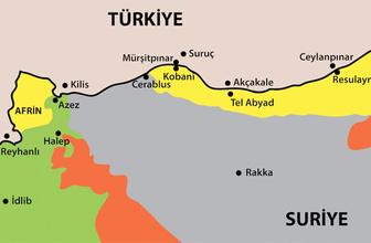 Afrin'e gireriz deyince ABD'nin paçaları tutuştu YPG'ye şok!