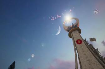 Ankara '15 Temmuz Şehitler Abidesi Anıtı' açılışa hazır