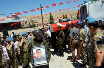 Kaza şehidi asker Çınar Taş Maraş'ı ağlattı