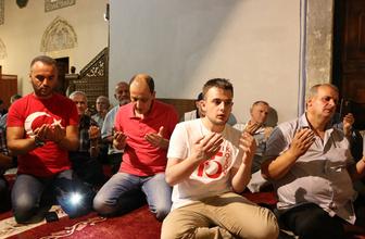15 Temmuz şehitleri Balkanlar'da dualarla anıldı